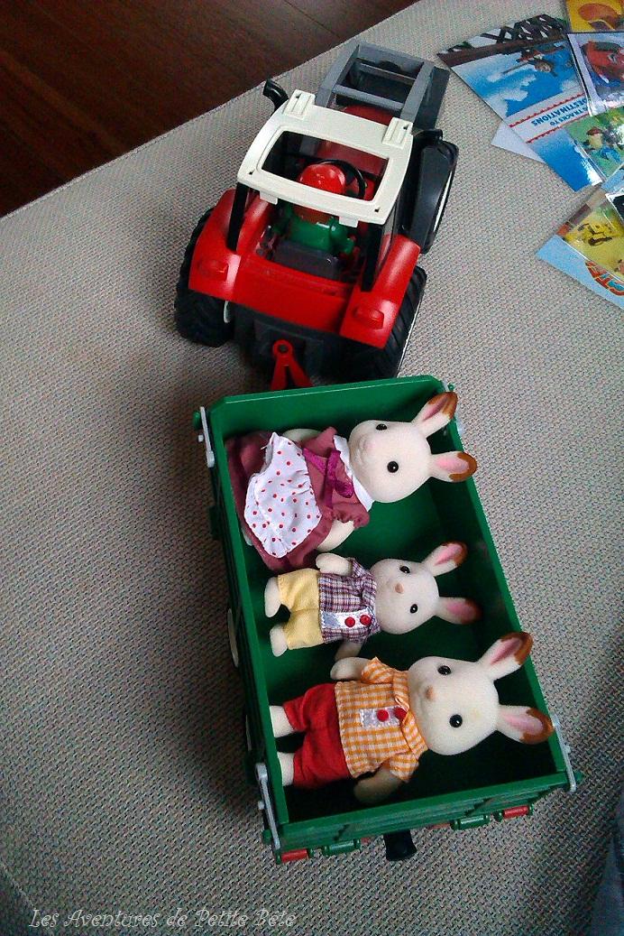 Sylvanian families la famille lapin les aventures de - Retour de couches pendant allaitement ...