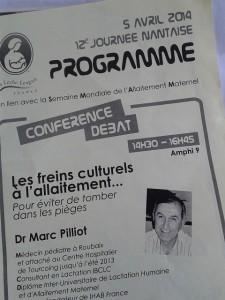 Conférence débat : programme
