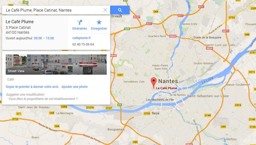 Café Plume Nantes
