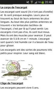 escargot sourd
