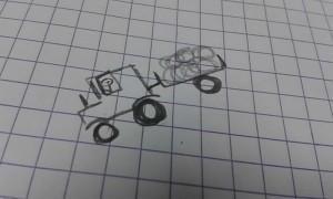 Tracteur par Marie