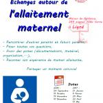 Réunion d'allaitement maternel